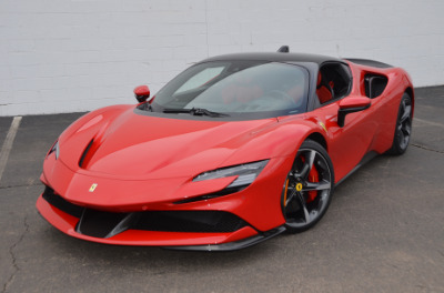 Used 2021 Ferrari SF90 Stradale Used 2021 Ferrari SF90 Stradale for sale Sold at Cauley Ferrari in West Bloomfield MI 56