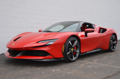 Used 2021 Ferrari SF90 Stradale Used 2021 Ferrari SF90 Stradale for sale Sold at Cauley Ferrari in West Bloomfield MI 62