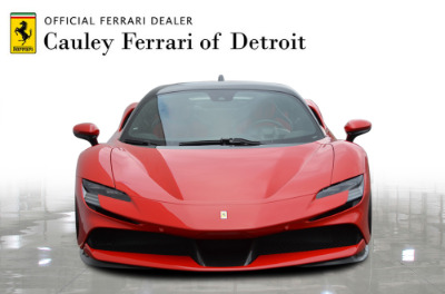 Used 2021 Ferrari SF90 Stradale Used 2021 Ferrari SF90 Stradale for sale Sold at Cauley Ferrari in West Bloomfield MI 7
