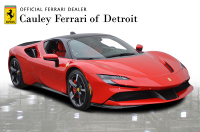 Used 2021 Ferrari SF90 Stradale Used 2021 Ferrari SF90 Stradale for sale Sold at Cauley Ferrari in West Bloomfield MI 8