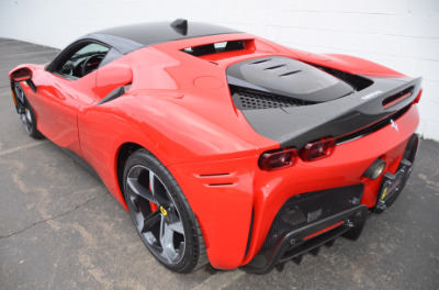Used 2021 Ferrari SF90 Stradale Used 2021 Ferrari SF90 Stradale for sale Sold at Cauley Ferrari in West Bloomfield MI 81