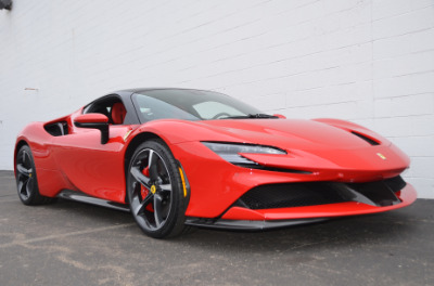 Used 2021 Ferrari SF90 Stradale Used 2021 Ferrari SF90 Stradale for sale Sold at Cauley Ferrari in West Bloomfield MI 83