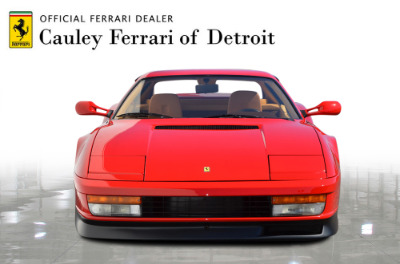 Used 1987 Ferrari Testarossa Used 1987 Ferrari Testarossa for sale $129,900 at Cauley Ferrari in West Bloomfield MI 3