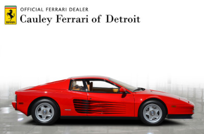 Used 1987 Ferrari Testarossa Used 1987 Ferrari Testarossa for sale $129,900 at Cauley Ferrari in West Bloomfield MI 5