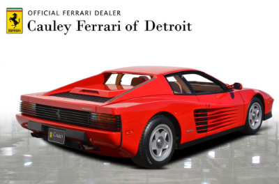 Used 1987 Ferrari Testarossa Used 1987 Ferrari Testarossa for sale $129,900 at Cauley Ferrari in West Bloomfield MI 6