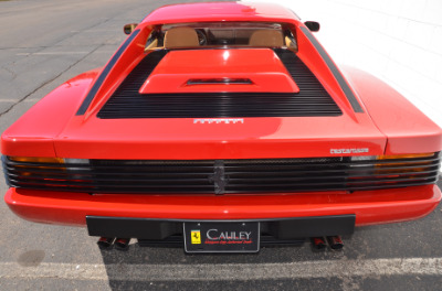 Used 1987 Ferrari Testarossa Used 1987 Ferrari Testarossa for sale $129,900 at Cauley Ferrari in West Bloomfield MI 63