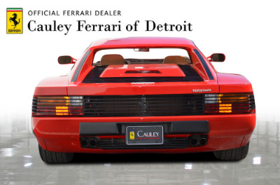 Used 1987 Ferrari Testarossa Used 1987 Ferrari Testarossa for sale $129,900 at Cauley Ferrari in West Bloomfield MI 7