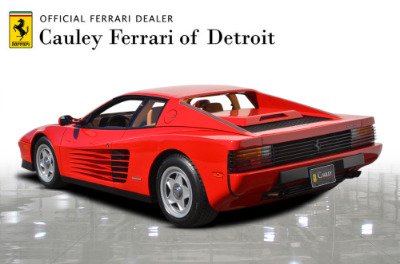 Used 1987 Ferrari Testarossa Used 1987 Ferrari Testarossa for sale $129,900 at Cauley Ferrari in West Bloomfield MI 8