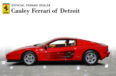 Used 1987 Ferrari Testarossa Used 1987 Ferrari Testarossa for sale $129,900 at Cauley Ferrari in West Bloomfield MI 9