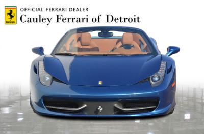 Used 2014 Ferrari 458 Spider Used 2014 Ferrari 458 Spider for sale $229,900 at Cauley Ferrari in West Bloomfield MI 3