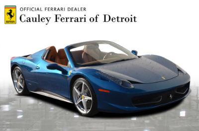 Used 2014 Ferrari 458 Spider Used 2014 Ferrari 458 Spider for sale Sold at Cauley Ferrari in West Bloomfield MI 4