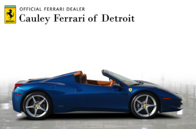 Used 2014 Ferrari 458 Spider Used 2014 Ferrari 458 Spider for sale $229,900 at Cauley Ferrari in West Bloomfield MI 5