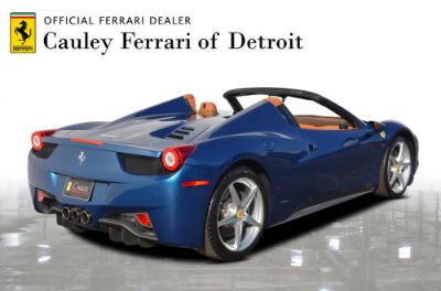 Used 2014 Ferrari 458 Spider Used 2014 Ferrari 458 Spider for sale $229,900 at Cauley Ferrari in West Bloomfield MI 6