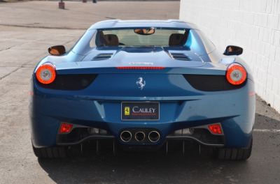 Used 2014 Ferrari 458 Spider Used 2014 Ferrari 458 Spider for sale Sold at Cauley Ferrari in West Bloomfield MI 69