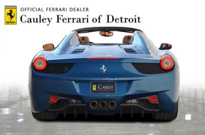 Used 2014 Ferrari 458 Spider Used 2014 Ferrari 458 Spider for sale $229,900 at Cauley Ferrari in West Bloomfield MI 7