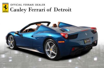 Used 2014 Ferrari 458 Spider Used 2014 Ferrari 458 Spider for sale $229,900 at Cauley Ferrari in West Bloomfield MI 8