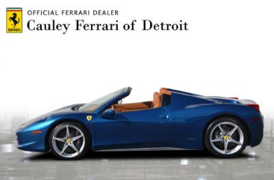Used 2014 Ferrari 458 Spider Used 2014 Ferrari 458 Spider for sale $229,900 at Cauley Ferrari in West Bloomfield MI 9