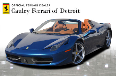 Used 2014 Ferrari 458 Spider Used 2014 Ferrari 458 Spider for sale Sold at Cauley Ferrari in West Bloomfield MI 1