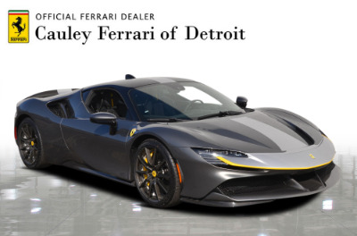 New 2021 Ferrari SF90 Stradale New 2021 Ferrari SF90 Stradale for sale Call for price at Cauley Ferrari in West Bloomfield MI 4