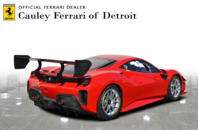 New 2021 Ferrari 488 Challenge EVO New 2021 Ferrari 488 Challenge EVO for sale Call for price at Cauley Ferrari in West Bloomfield MI 6