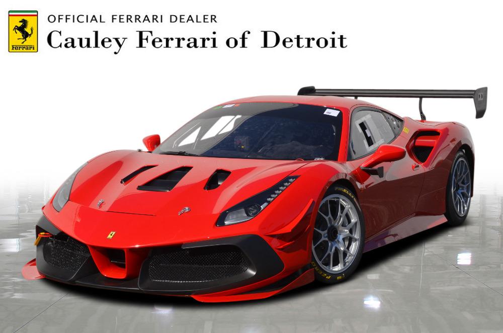 New 2021 Ferrari 488 Challenge EVO