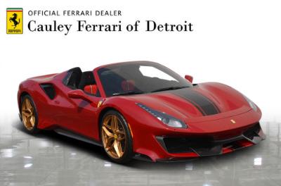 Used 2020 Ferrari 488 Pista Spider Used 2020 Ferrari 488 Pista Spider for sale $574,900 at Cauley Ferrari in West Bloomfield MI 4