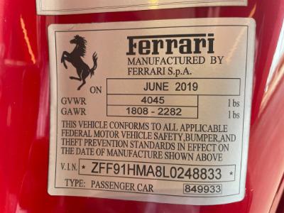 Used 2020 Ferrari 488 Pista Spider Used 2020 Ferrari 488 Pista Spider for sale $574,900 at Cauley Ferrari in West Bloomfield MI 94
