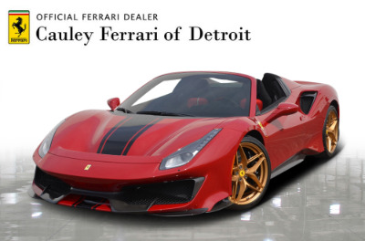 Used 2020 Ferrari 488 Pista Spider Used 2020 Ferrari 488 Pista Spider for sale $574,900 at Cauley Ferrari in West Bloomfield MI 1