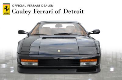 Used 1989 Ferrari Testarossa Used 1989 Ferrari Testarossa for sale $144,900 at Cauley Ferrari in West Bloomfield MI 3