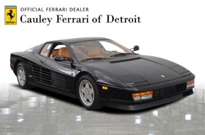 Used 1989 Ferrari Testarossa Used 1989 Ferrari Testarossa for sale $144,900 at Cauley Ferrari in West Bloomfield MI 4