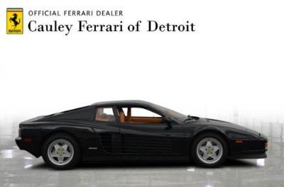 Used 1989 Ferrari Testarossa Used 1989 Ferrari Testarossa for sale $144,900 at Cauley Ferrari in West Bloomfield MI 5