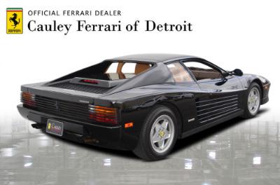 Used 1989 Ferrari Testarossa Used 1989 Ferrari Testarossa for sale $144,900 at Cauley Ferrari in West Bloomfield MI 6