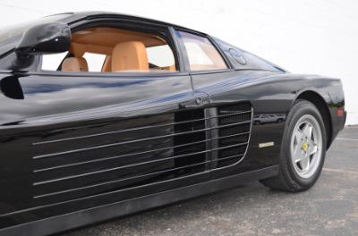 Used 1989 Ferrari Testarossa Used 1989 Ferrari Testarossa for sale $144,900 at Cauley Ferrari in West Bloomfield MI 61
