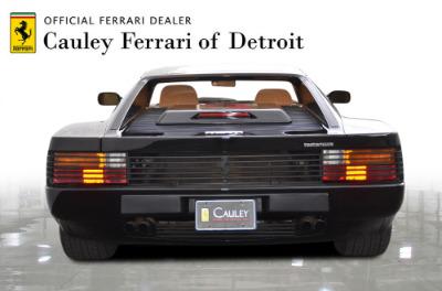 Used 1989 Ferrari Testarossa Used 1989 Ferrari Testarossa for sale $144,900 at Cauley Ferrari in West Bloomfield MI 7