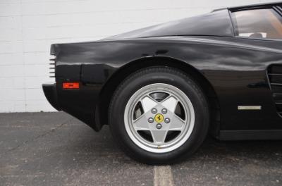 Used 1989 Ferrari Testarossa Used 1989 Ferrari Testarossa for sale $144,900 at Cauley Ferrari in West Bloomfield MI 76
