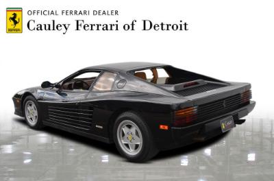 Used 1989 Ferrari Testarossa Used 1989 Ferrari Testarossa for sale $144,900 at Cauley Ferrari in West Bloomfield MI 8
