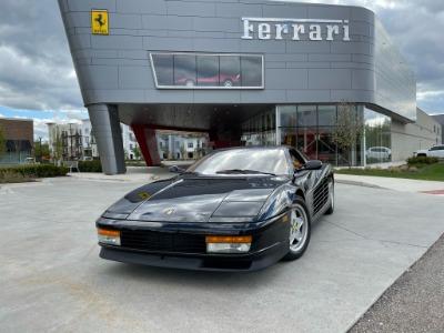 Used 1989 Ferrari Testarossa Used 1989 Ferrari Testarossa for sale $144,900 at Cauley Ferrari in West Bloomfield MI 86