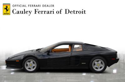 Used 1989 Ferrari Testarossa Used 1989 Ferrari Testarossa for sale $144,900 at Cauley Ferrari in West Bloomfield MI 9