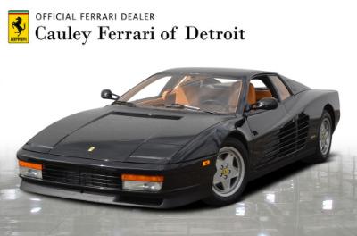 Used 1989 Ferrari Testarossa Used 1989 Ferrari Testarossa for sale $144,900 at Cauley Ferrari in West Bloomfield MI 1
