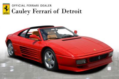 Used 1991 Ferrari 348 TS Used 1991 Ferrari 348 TS for sale Sold at Cauley Ferrari in West Bloomfield MI 4