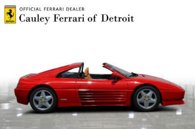 Used 1991 Ferrari 348 TS Used 1991 Ferrari 348 TS for sale Sold at Cauley Ferrari in West Bloomfield MI 5