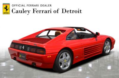 Used 1991 Ferrari 348 TS Used 1991 Ferrari 348 TS for sale Sold at Cauley Ferrari in West Bloomfield MI 6