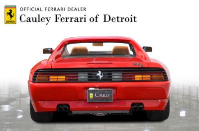 Used 1991 Ferrari 348 TS Used 1991 Ferrari 348 TS for sale Sold at Cauley Ferrari in West Bloomfield MI 7