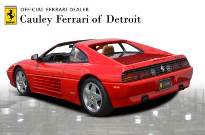 Used 1991 Ferrari 348 TS Used 1991 Ferrari 348 TS for sale Sold at Cauley Ferrari in West Bloomfield MI 8