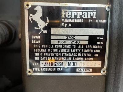 Used 1991 Ferrari 348 TS Used 1991 Ferrari 348 TS for sale Sold at Cauley Ferrari in West Bloomfield MI 89