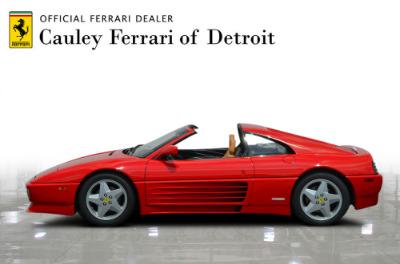 Used 1991 Ferrari 348 TS Used 1991 Ferrari 348 TS for sale Sold at Cauley Ferrari in West Bloomfield MI 9