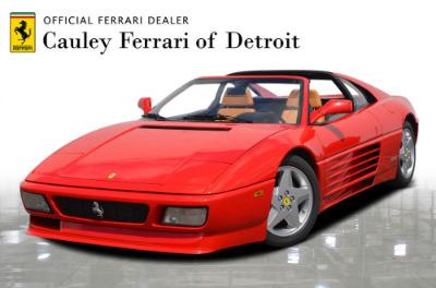 Used 1991 Ferrari 348 TS Used 1991 Ferrari 348 TS for sale Sold at Cauley Ferrari in West Bloomfield MI 1