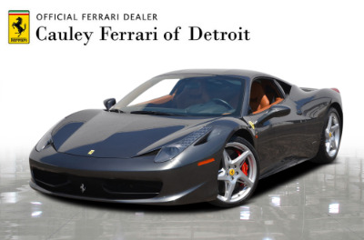 Used 2013 Ferrari 458 Italia Used 2013 Ferrari 458 Italia for sale Sold at Cauley Ferrari in West Bloomfield MI 1