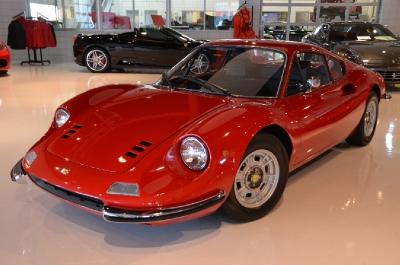 Used 1973 Ferrari 246 Dino GT Used 1973 Ferrari 246 Dino GT for sale Sold at Cauley Ferrari in West Bloomfield MI 3