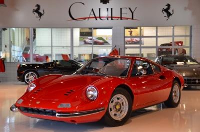 Used 1973 Ferrari 246 Dino GT Used 1973 Ferrari 246 Dino GT for sale Sold at Cauley Ferrari in West Bloomfield MI 1